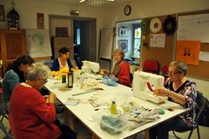 Atelier fabrication de lingettes