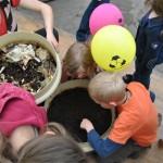 Le compostage au salon de l'habitat 2015 le ver de terre héros du salon