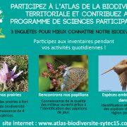 Participez à l'Atlas de la Biodiversité territoriale