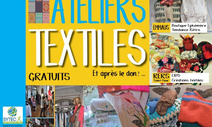 Ateliers Textiles : les deuxièmes vies de nos textiles usagés
