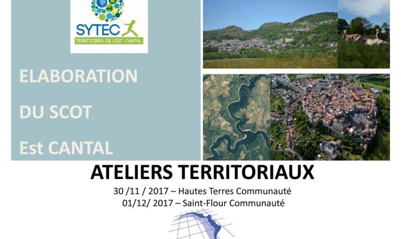 SCOT Est Cantal : les ateliers géographiques.