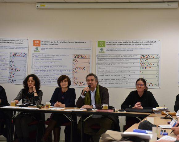 Elaboration du Projet Territorial de Développement Durable
