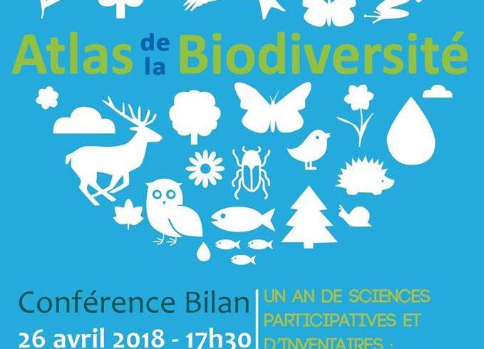 Un an de sciences participatives et d'inventaires : partage des connaissances de l'Atlas de la Biodiversité Territoriale »