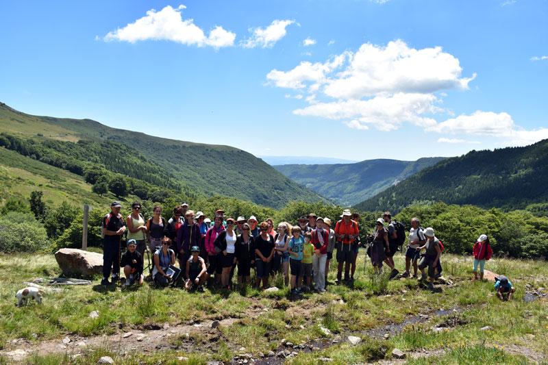 Randonnée de la Vallée de Brezons au cirque de Grandval, le cirque de la biodiversité !