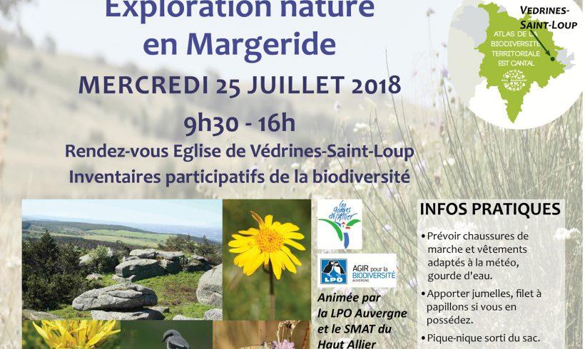 Mercredi de la Biodiversité en Margeride