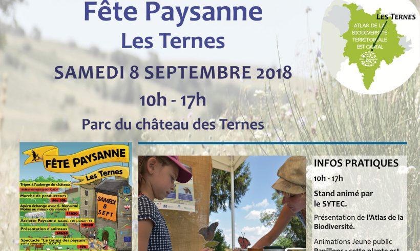 Fête Paysanne de la Confédération Paysanne – Les Ternes samedi 8 septembre