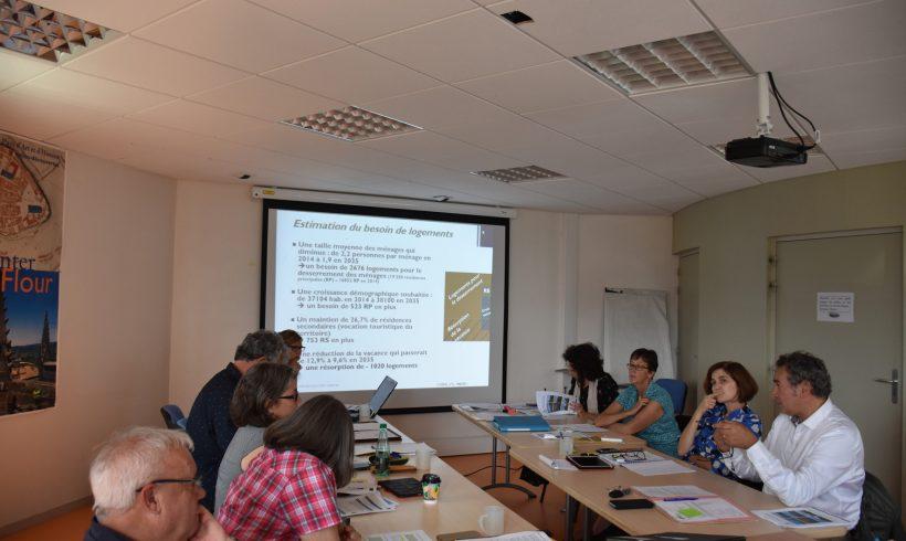 Elaboration du SCoT Est Cantal – Comité de pilotage : Projet d'Aménagement et de Développement Durables (PADD)