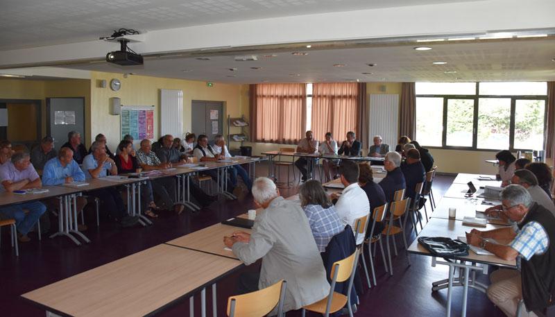 Comité syndical 17 septembre 2018 : anticiper les évolutions du traitement des boues et des déchets verts