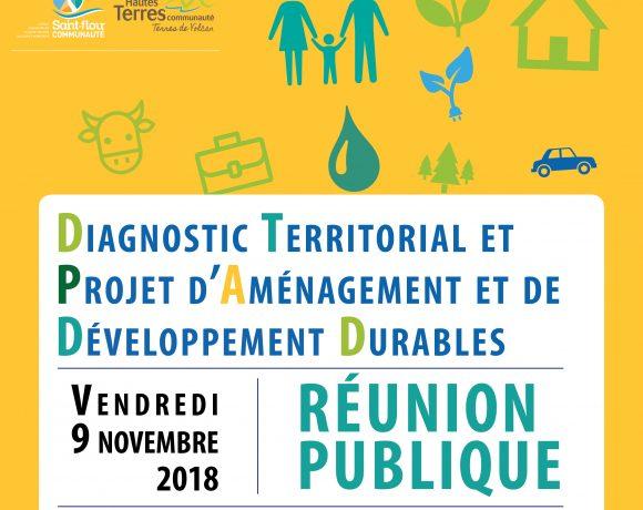 SCoT Est Cantal – 1ère réunion publique –  vendredi 9 novembre 2018