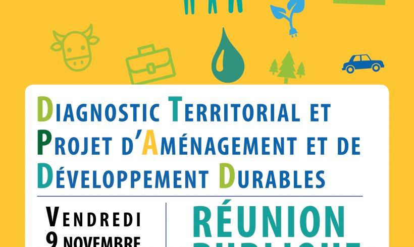 SCoT Est Cantal – 1ère réunion publique – 9 vendredi novembre 2018