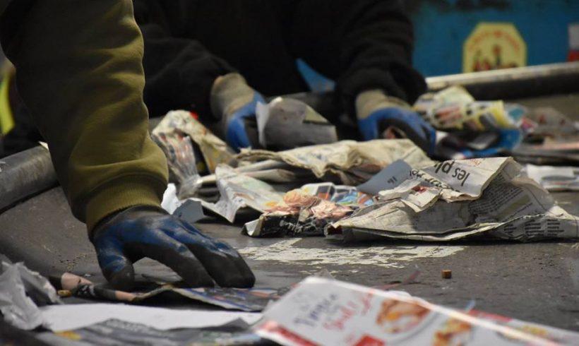 Portes ouvertes aux Cramades –  «Tous ces déchets… c'est dingue… Il faut le voir pour le croire ! «