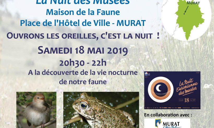 L'Atlas est à la Nuit des Musées – 18 mai 2019