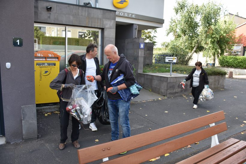 Nettoyage ville de Saint-Flour – World CleanUp Day 2019