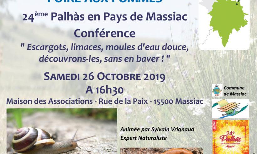 L'Atlas est à la Fête des Palhàs – Samedi 26 octobre 2019
