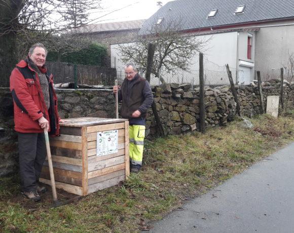 Composte de proximité : 2 points de compostage à Saint-Poncy !