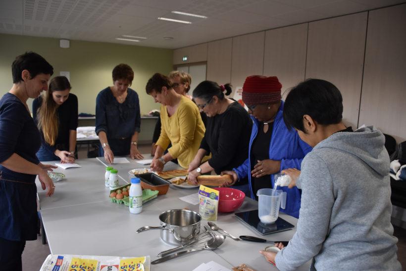 Pour lutter contre le gaspillage : échanges et recettes en cuisine ! Maison des Services de Pierrefort