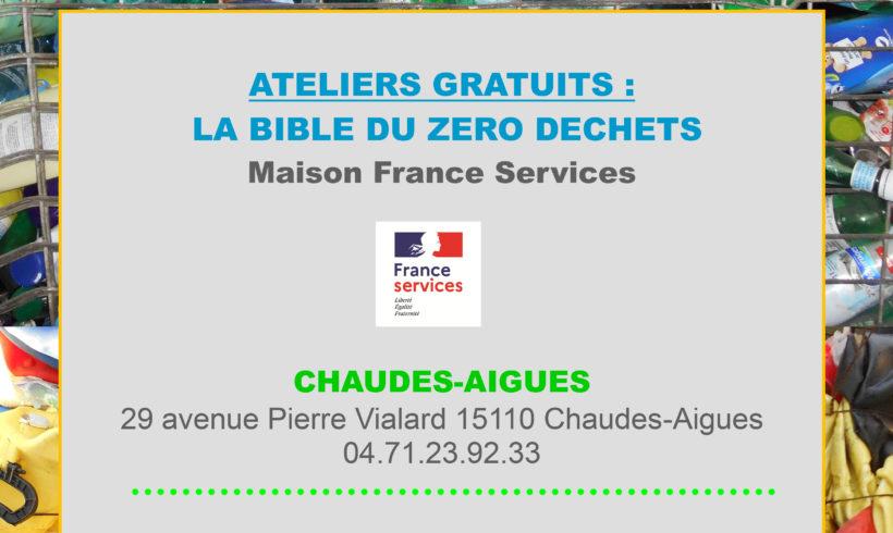 ATELIER TRI – Maison des Services Chaudes-Aigues