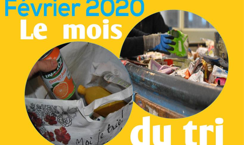 Février 2020 : le mois du tri !