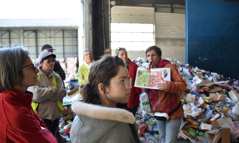 Portes ouvertes Centre de tri – «C'est affolant tous ces déchets…» – Février 2020