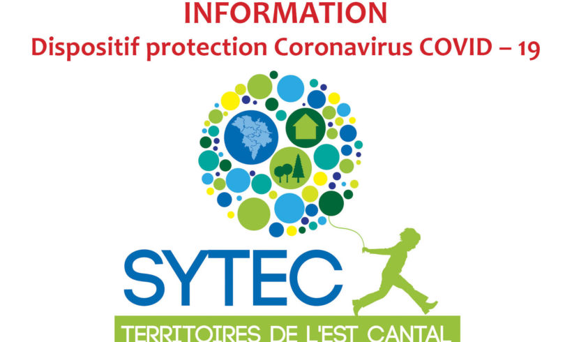 INFORMATION : Dispositif protection Coronavirus COVID – 19