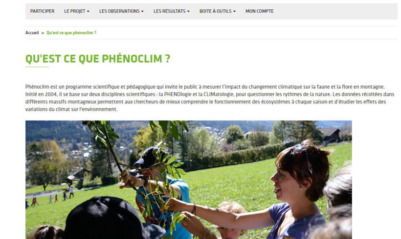 Mercredi de la Biodiversité, chez vous ! – Webconférence «Changement climatique»