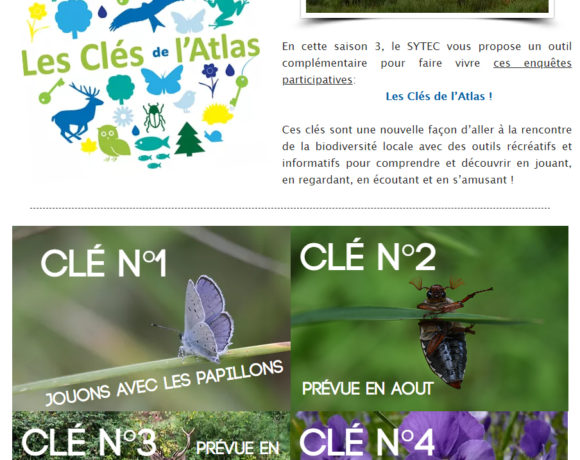 NOUVEAU : LES CLES DE L'ATLAS !