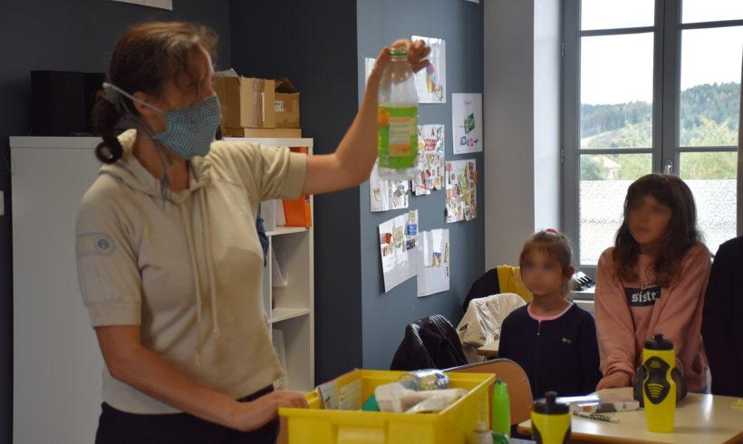 Sensibilisation scolaire : LE TRI, C'EST FACILE ! – Ecole de Ruynes-en-Margeride