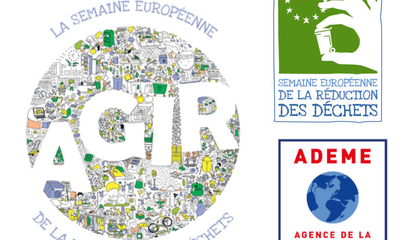 SEMAINE EUROPEENNE DE REDUCTION DES DECHETS –  JOUR 1 : 🔎 Notre poubelle à la loupe !
