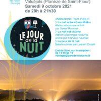 Le jour de la nuit – Samedi 9 octobre à Valuéjols